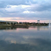 Photo taken at The Park at Josey Ranch Lake by Thani D. on 8/10/2012