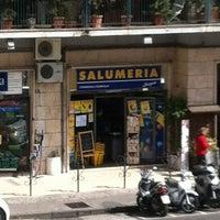 Photo taken at Salumeria Lanzini by Renato A. on 4/21/2012