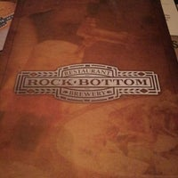 Photo taken at Rock Bottom Brewery by Todd N. on 1/27/2012