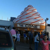 Photo taken at The Cone by Jason S. on 8/29/2011