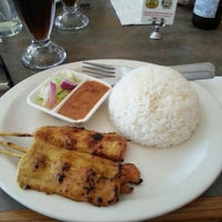 Photo taken at Lemongrass Thai Cuisine by Sara R. on 7/3/2012