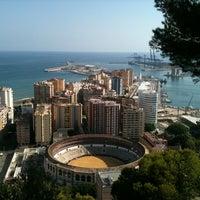 Photo taken at Hotel Parador de Málaga Gibralfaro by laura c. on 7/28/2011