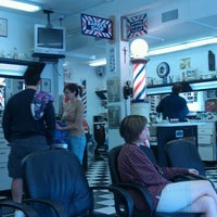 Photo taken at Carrollwood Barber Shop by Ruben G. on 1/14/2012