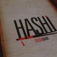 Foto tirada no(a) Hashi Sushi Bar por Bruno L. em 8/12/2012