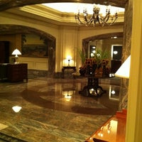 Photo taken at Boston Harbor Hotel by Lauren C. on 7/25/2011