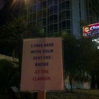 Photo taken at Clarion Hotel & Casino by Todd Z. on 1/12/2012
