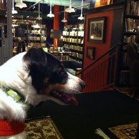 Photo taken at Battery Park Book Exchange And Champagne Bar by Joella D. on 7/16/2011