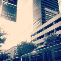 Photo taken at 5th Ave Trolley Station by Maria P. on 7/19/2012