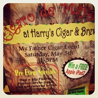 Photo taken at Harry's Cigar & Brew by Cigar ThinkTank on 5/1/2012