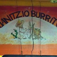 Photo taken at Janitzio Burrito by Rocio C. on 4/9/2011