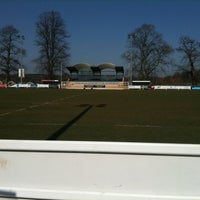 Photo taken at Henley Hawks Rugby Club by Richard B. on 3/19/2011