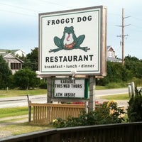 Photo taken at The Froggy Dog by Christy Sunshine P. on 7/26/2011