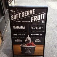Photo taken at Chloe's Soft Serve Fruit Co. by K@rTh!kk R. on 7/4/2012