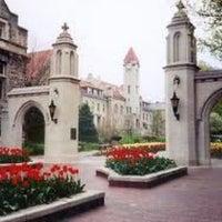 Photo taken at Indiana University Bloomington by Edward H. on 5/27/2012