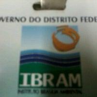 Photo taken at IBRAM - Instituto Brasília Ambiental by Fernando M. on 8/27/2012