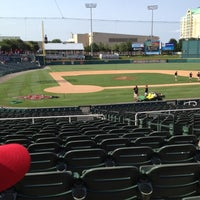 Photo taken at Dr Pepper Ballpark by Lacy R. on 6/10/2012