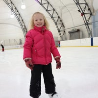 "Photo taken at Dominic ""Mimi"" DiPietro Family Skating Center by Travis H. on 2/25/2012"