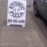 Photo taken at Atomic Pizza by kooriz g. on 8/22/2012