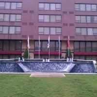 Photo taken at Indianapolis Marriott East by Ashton E. on 5/1/2012