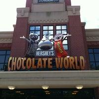 Photo taken at Hershey's Chocolate World by Bernardo T. on 6/25/2012