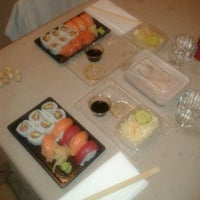Photo taken at Wasabi Sushi by Andrea M. on 7/10/2012