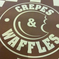Photo taken at Crepes & Waffles by Carla O. on 6/23/2012