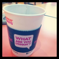 Photo taken at DUNKIN' DONUTS by Lipsen J. on 9/4/2012