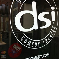 Photo taken at DSI Comedy Theater by Zach W. on 8/23/2012
