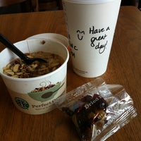 Photo taken at Starbucks by Connie H. on 3/13/2012