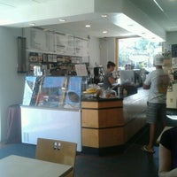Photo taken at Jitters Cafe Shadyside by Sue K. on 8/8/2012