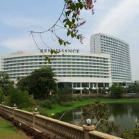 Photo taken at Renaissance Mumbai Convention Centre Hotel by Girish S. on 4/13/2012