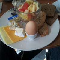 Photo taken at St. Gaudy Café by rohrwallpirat B. on 8/18/2012