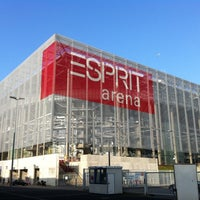 Photo taken at ESPRIT arena by Milos W. on 3/15/2012