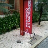 Photo taken at Universidade Presbiteriana Mackenzie by André S. on 2/7/2012