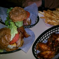 Photo taken at Sigma Burger Pie by Rafe on 2/17/2012