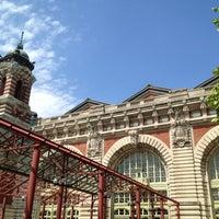 Photo taken at Ellis Island Immigration Museum by Navanid T. on 6/28/2012