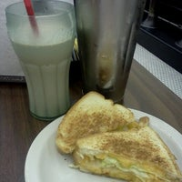 Photo taken at Highland Park Old-Fashioned Soda Fountain by John P. on 7/12/2012