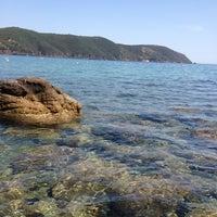 Photo taken at Spiaggia di Lacona by eleonora c. on 6/19/2012