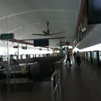 Photo taken at Tampines MRT Station (EW2/DT32) by Mae L. on 7/20/2012