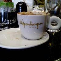 Photo taken at Kopenhagen Café by Didi B. on 7/29/2012