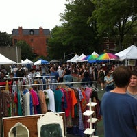 Photo taken at Brooklyn Flea - Fort Greene by Nathan L. on 7/28/2012