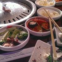 Photo taken at Gen Korean BBQ House by Julie H. on 5/15/2012