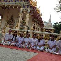 Photo taken at วัดศรีทวี by Warisara D. on 7/11/2012