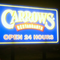 Photo taken at Carrows by Rachel H. on 4/27/2012
