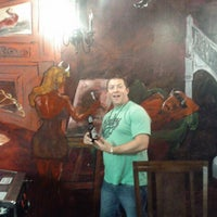 Photo taken at Hell Pizza by John M. on 8/30/2012