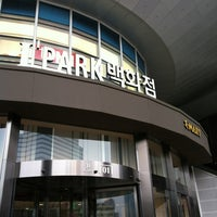 Photo taken at I'Park Mall by Jeonghoon K. on 2/25/2012