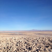 Photo taken at Salar de Atacama by Laura C. on 4/22/2012