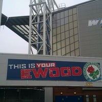Photo taken at Ewood Park by Ryan E. on 2/9/2012