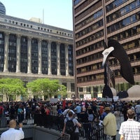 Photo taken at Daley Plaza by Billy M. on 5/18/2012