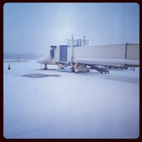 Photo taken at Erie International Airport (ERI) by Mike D. on 2/11/2012